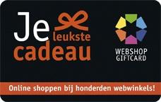 Webshopgiftcard cadeau card