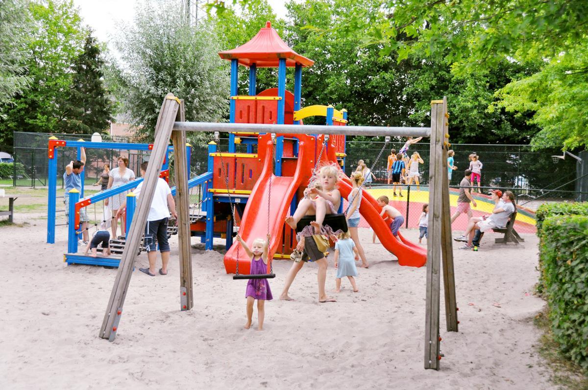 Oostappen park Parelstrand