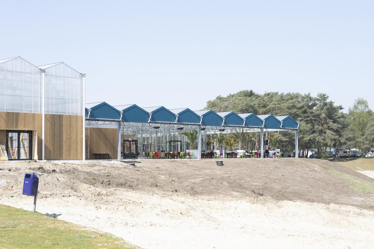 Oostappen park Blauwe Meer