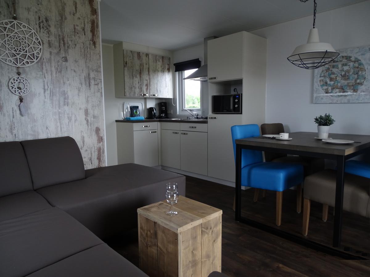 Keuken Open Hoek : Persoons strandhuisje aqua centrum bremerbergse hoek